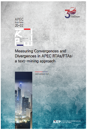 Measuring Convergences and Divergences in APEC RTAs/FTAs: a text-mining approach image